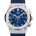 【48回払いまで無金利】ウブロ クラシックフュージョン クロノグラフ チタニウム ブルー 521.NX.7170.LR メンズ(002GHBAN0131)【新品】【腕時計】【送料無料】