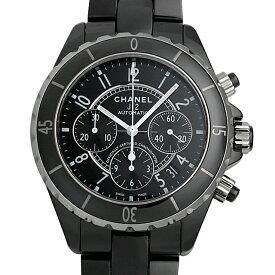 【48回払いまで無金利】シャネル J12 クロノグラフ 黒セラミック H0940 メンズ(0671CHAN0479)【新品】【腕時計】【送料無料】