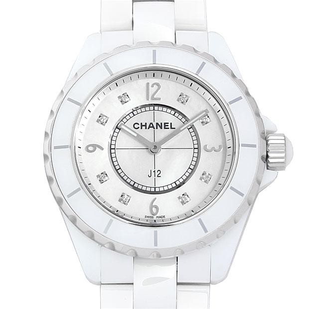 【48回払いまで無金利】シャネル J12 8Pダイヤ H3214 メンズ(0671CHAN0331)【新品】【腕時計】【送料無料】