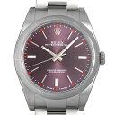 【48回払いまで無金利】ロレックス オイスターパーペチュアル39 114300 レッドグレープ メンズ(0H7QROAN0019)【新品】【腕時計】【送料無料】