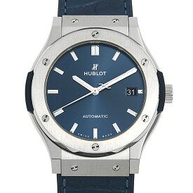 【48回払いまで無金利】ウブロ クラシックフュージョン チタニウム ブルー 511.NX.7170.LR メンズ(0039HBAN0029)【新品】【腕時計】【送料無料】
