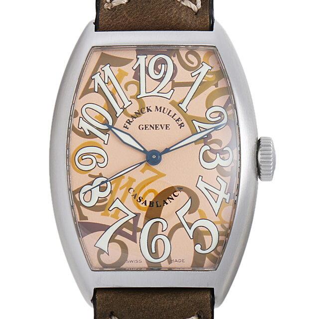 フランクミュラー カサブランカ カモフラージュ 5850CBR CAMOUFLAGE AC メンズ(001HFRAU0059)【中古】【腕時計】【送料無料】