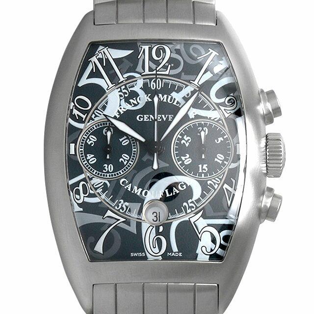 SALE フランクミュラー カサブランカ カモフラージュ クロノグラフ 8883C CC DT BR CAMO OAC メンズ(009VFRAU0066)【中古】【腕時計】【送料無料】
