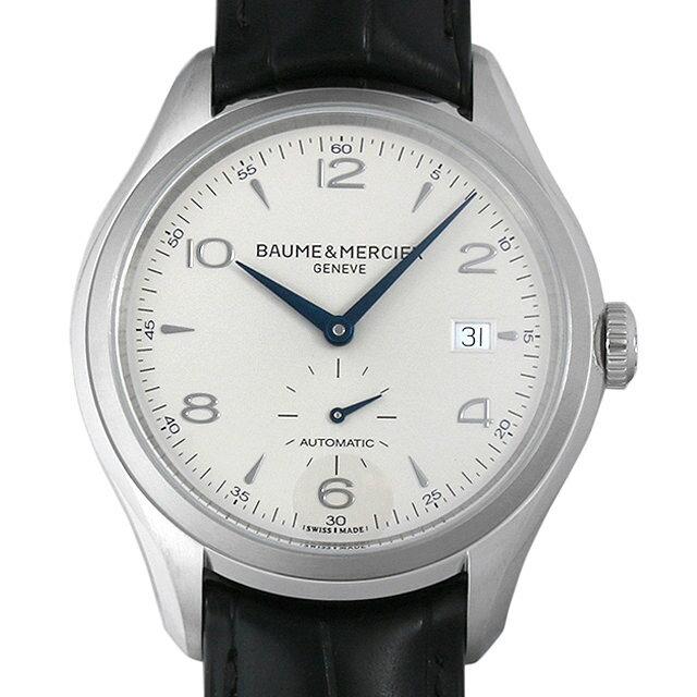 ボーム&メルシエ クリフトン MOA10052 シルバー メンズ(0066BMAN0008)【新品】【腕時計】【送料無料】