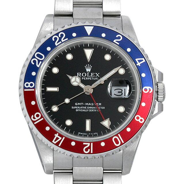 ロレックス GMTマスター 赤青ベゼル R番 16700 メンズ(006XROAU0590)【中古】【腕時計】【送料無料】
