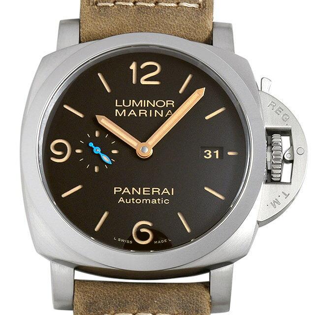 【48回払いまで無金利】パネライ ルミノール マリーナ 1950 3デイズ オートマチック チタニオ PAM01351 メンズ(0088OPAN0015)【新品】【腕時計】【送料無料】