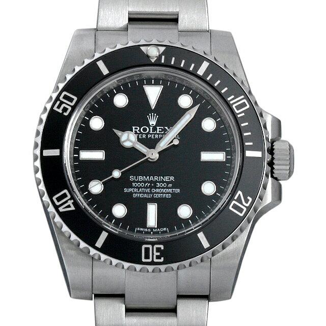 ロレックス サブマリーナ ノンデイト ランダムシリアル 114060 メンズ(0063ROAU0185)【中古】【腕時計】【送料無料】