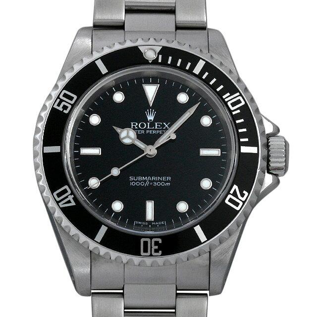 ロレックス サブマリーナ ノンデイト Z番 14060M メンズ(009VROAU0187)【中古】【腕時計】【送料無料】