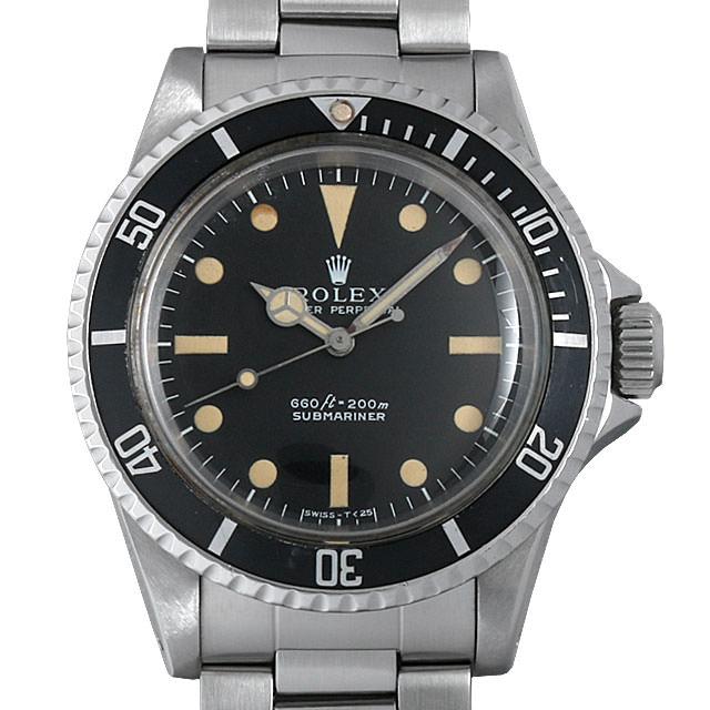 ロレックス サブマリーナ Cal.1520 26番 5513 フチなし フィートファースト メンズ(0BCCROAA0004)【アンティーク】【腕時計】【送料無料】