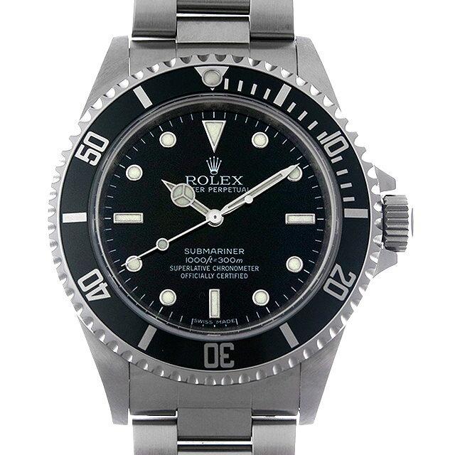 ロレックス サブマリーナ ノンデイト V番 14060M メンズ(0F3HROAU0002)【中古】【腕時計】【送料無料】