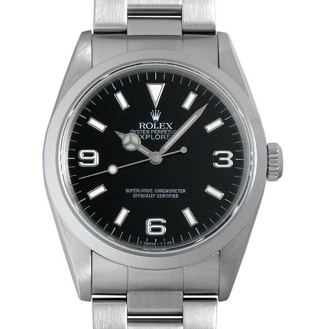 ロレックス エクスプローラーI U番 14270 メンズ(006XROAU0638)【中古】【腕時計】【送料無料】