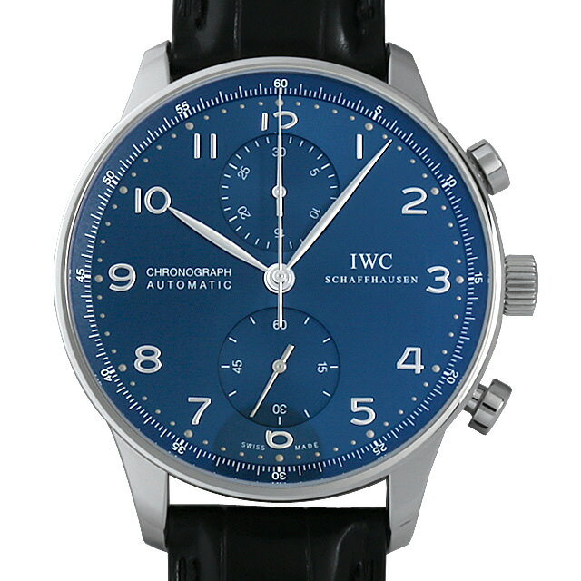 【期間限定ポイント最大10倍!1月24日(木)20時開始】IWC ポルトギーゼ クロノグラフ IW371491 メンズ(0FHMIWAN0037)【新品】【腕時計】【送料無料】【48回払いまで無金利】