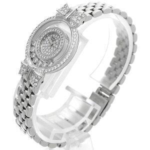 【48回払いまで無金利】ショパールハッピーダイヤモンドリボン2重ダイヤ20/5020レディース(006TCPAU0002)【中古】【腕時計】【送料無料】