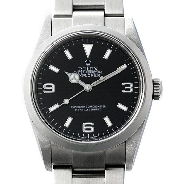 【48回払いまで無金利】ロレックス エクスプローラーI M番 114270 メンズ(007UROAU0334)【中古】【腕時計】【送料無料】