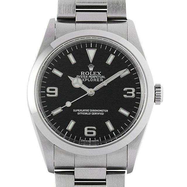 【48回払いまで無金利】ロレックス エクスプローラーI P番 14270 メンズ(008WROAU0214)【中古】【腕時計】【送料無料】