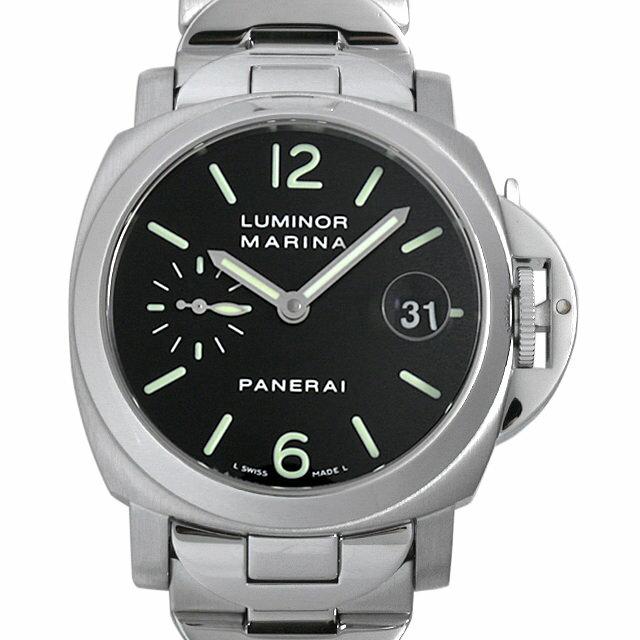 【48回払いまで無金利】パネライ ルミノールマリーナ I番 PAM00050 メンズ(008WOPAU0060)【中古】【腕時計】【送料無料】