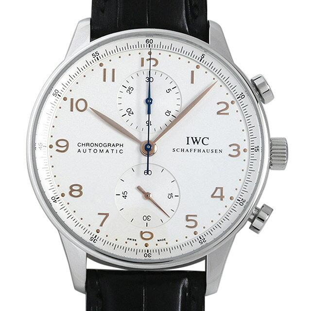 【48回払いまで無金利】IWC ポルトギーゼ クロノグラフ 金針 IW371401 メンズ(009MIWAU0037)【中古】【腕時計】【送料無料】【5000円オフクーポン配布中】