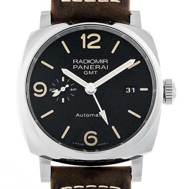 【48回払いまで無金利】パネライ ラジオミール 1940 3デイズ GMT オートマティック アッチャイオ S番 PAM00627 メンズ(007UOPAU0102)【中古】【腕時計】【送料無料】