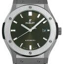 【48回払いまで無金利】ウブロ クラシックフュージョン チタウニウム グリーン 511.NX.8970.LR メンズ(009FHBAN0136)【新品】【腕時計】【送料無料】
