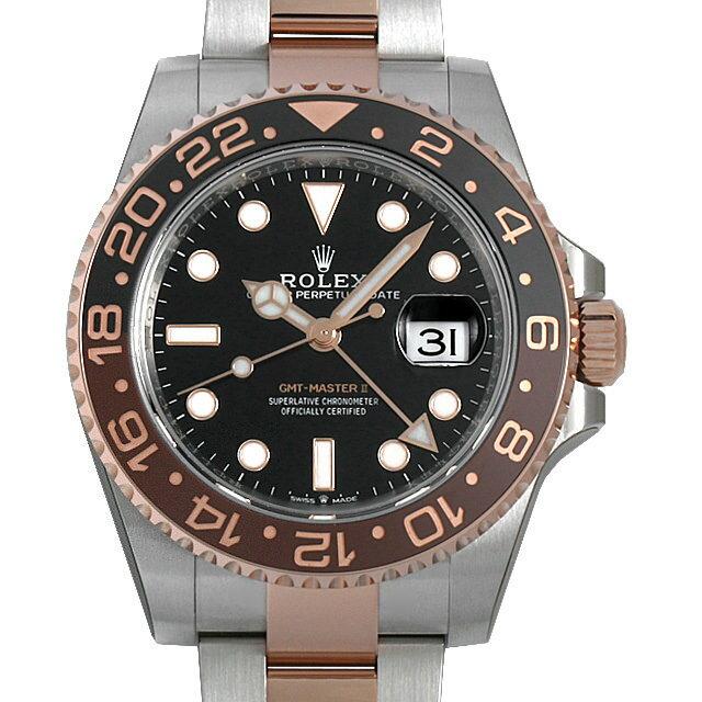 【48回払いまで無金利】ロレックス GMTマスターII 126711CHNR メンズ(0P9OROAS0001)【中古】【未使用】【腕時計】【送料無料】