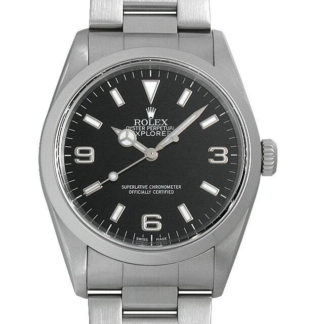 【48回払いまで無金利】ロレックス エクスプローラーI P番 14270 メンズ(008WROAU0238)【中古】【腕時計】【送料無料】【5000円オフクーポン配布中】