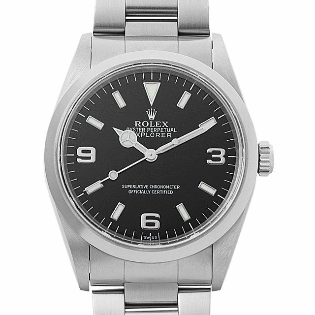 【48回払いまで無金利】ロレックス エクスプローラーI A番 14270 メンズ(009VROAU0237)【中古】【腕時計】【送料無料】