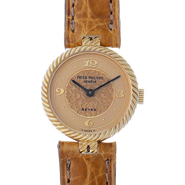 【48回払いまで無金利】パテックフィリップ BEYER Wネーム 4512 レディース(0IEIPPAA0001)【アンティーク】【腕時計】【送料無料】