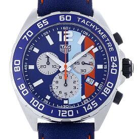 【60回払いまで無金利】タグホイヤー フォーミュラ1 クロノグラフ ガルフ スペシャルエディション CAZ101N.FC8243 メンズ(0ZMCTHAN0079)【新品】【腕時計】【送料無料】