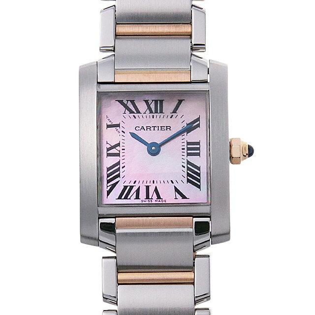【48回払いまで無金利】カルティエ タンクフランセーズ SM W51027Q4 レディース(001HCAAU0116)【中古】【腕時計】【送料無料】