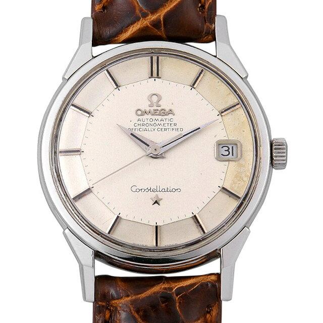 【48回払いまで無金利】オメガ コンステレーション クロノメーター 168.005 メンズ(006XOMAA0035)【アンティーク】【腕時計】【送料無料】
