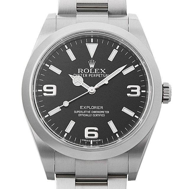 【48回払いまで無金利】ロレックス エクスプローラー ランダムシリアル 214270 メンズ(006XROAU0794)【中古】【腕時計】【送料無料】