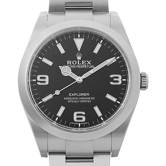 【48回払いまで無金利】ロレックス エクスプローラー 214270 最新型 メンズ(006XROAU0895)【中古】【腕時計】【送料無料】