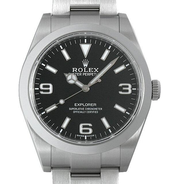 【48回払いまで無金利】ロレックス エクスプローラー 214270 最新型 メンズ(0CNUROAU0001)【中古】【腕時計】【送料無料】