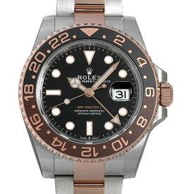 【48回払いまで無金利】ロレックス GMTマスターII 126711CHNR メンズ(0PK4ROAN0009)【新品】【腕時計】【送料無料】