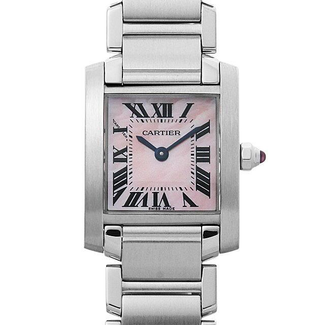 【48回払いまで無金利】カルティエ タンクフランセーズ SM W51028Q3 レディース(001HCAAU0115)【中古】【腕時計】【送料無料】