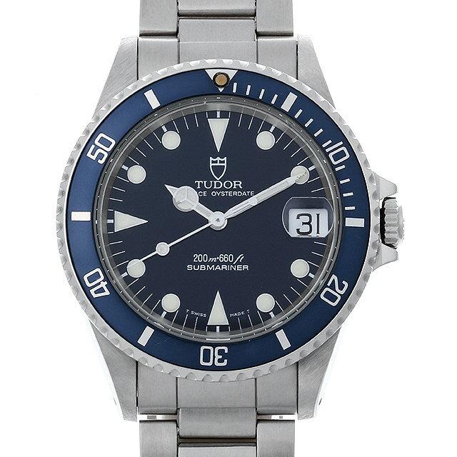 【48回払いまで無金利】チュードル サブマリーナ デイト 75090 ブルー メンズ(006XTUAU0045)【中古】【腕時計】【送料無料】
