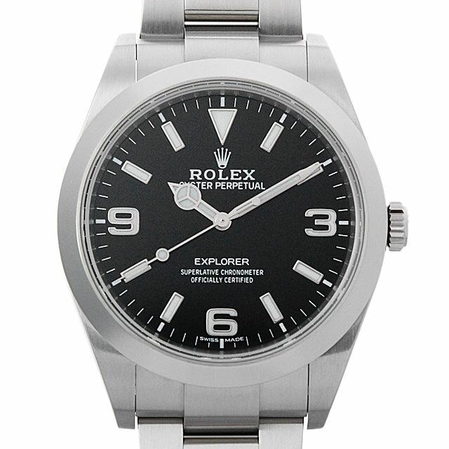 【48回払いまで無金利】ロレックス エクスプローラー 214270 最新型 メンズ(007UROAU0438)【中古】【腕時計】【送料無料】