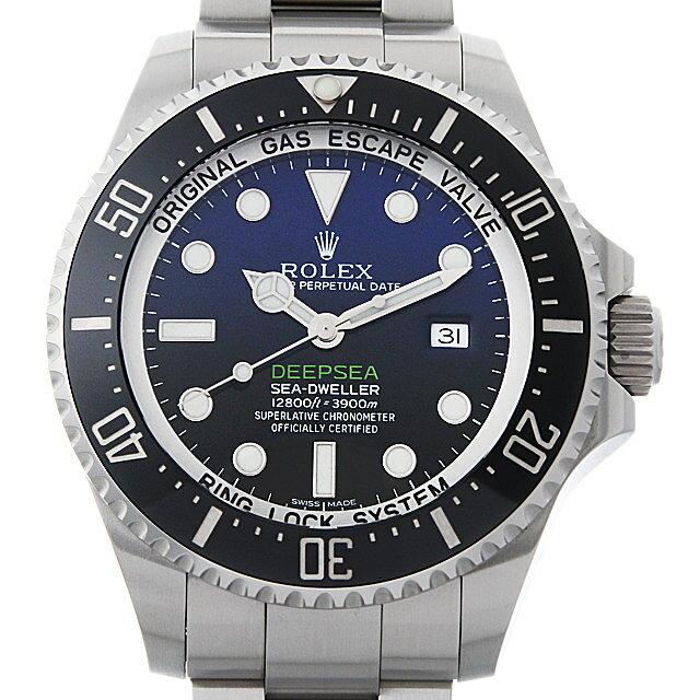 【48回払いまで無金利】ロレックス ディープシー D-BLUEダイアル 116660 メンズ(05ZZROAU0002)【中古】【腕時計】【送料無料】