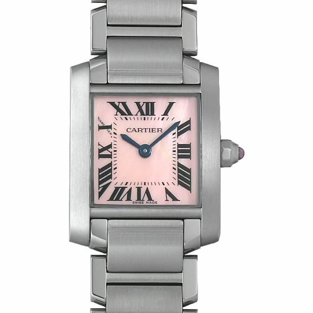 【48回払いまで無金利】カルティエ タンクフランセーズ SM W51028Q3 レディース(0A89CAAU0026)【中古】【腕時計】【送料無料】