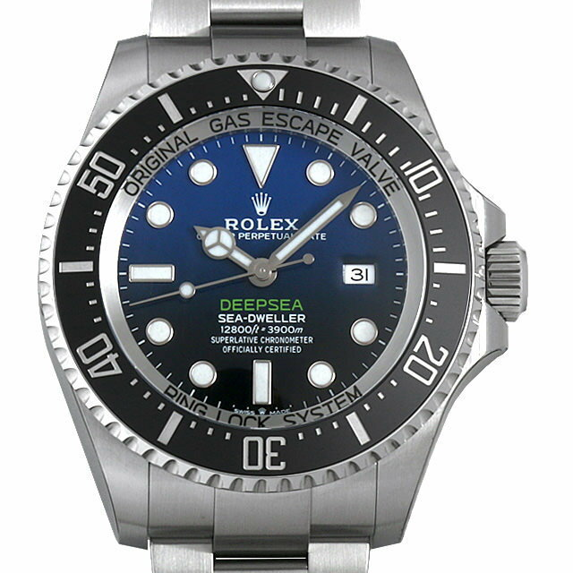 【48回払いまで無金利】ロレックス ディープシー D-BLUEダイアル 126660 メンズ(0FHMROAN0009)【新品】【腕時計】【送料無料】