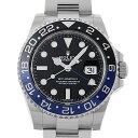 【48回払いまで無金利】ロレックス GMTマスターII 116710BLNR メンズ(0GH2ROAU0002)【中古】【腕時計】【送料無料】