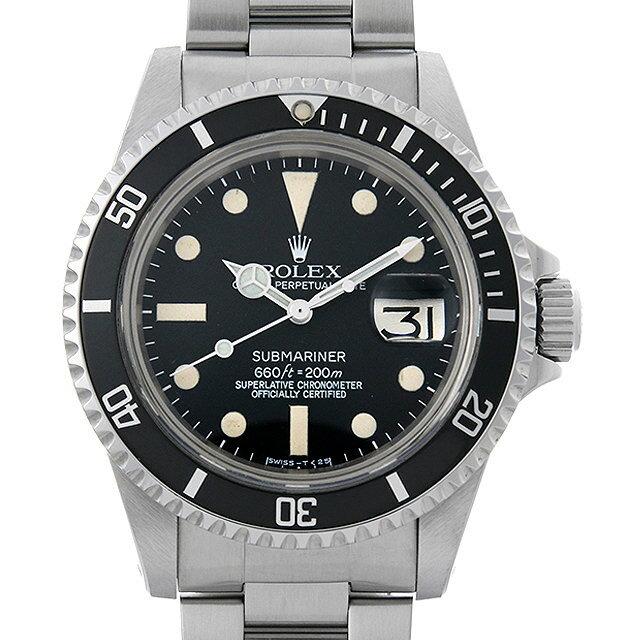【48回払いまで無金利】ロレックス サブマリーナ デイト Cal.1570 61番 1680 メンズ(0IZVROAA0001)【アンティーク】【腕時計】【送料無料】