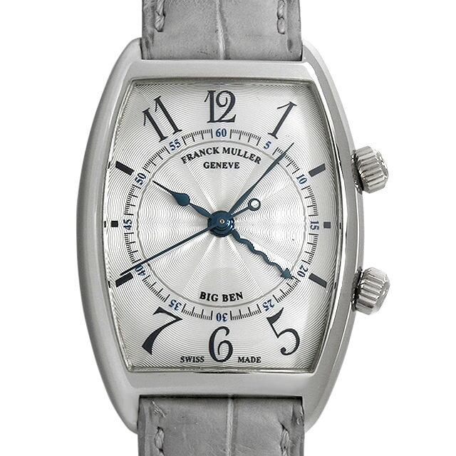 【48回払いまで無金利】フランクミュラー トノーカーベックス ビッグベン 2852AL WG メンズ(007UFRAU0140)【中古】【腕時計】【送料無料】