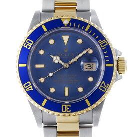 【48回払いまで無金利】SALE ロレックス サブマリーナデイト R番 16803 ブルートロピカル メンズ(0D63ROAU0001)【中古】【腕時計】【送料無料】