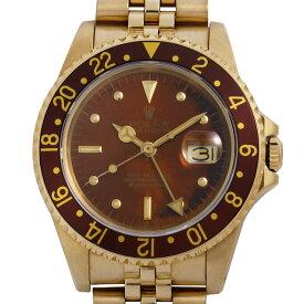 【48回払いまで無金利】SALE ロレックス GMTマスター 16758 フジツボ/トロピカル 65番 メンズ(007UROAU0468)【中古】【腕時計】【送料無料】