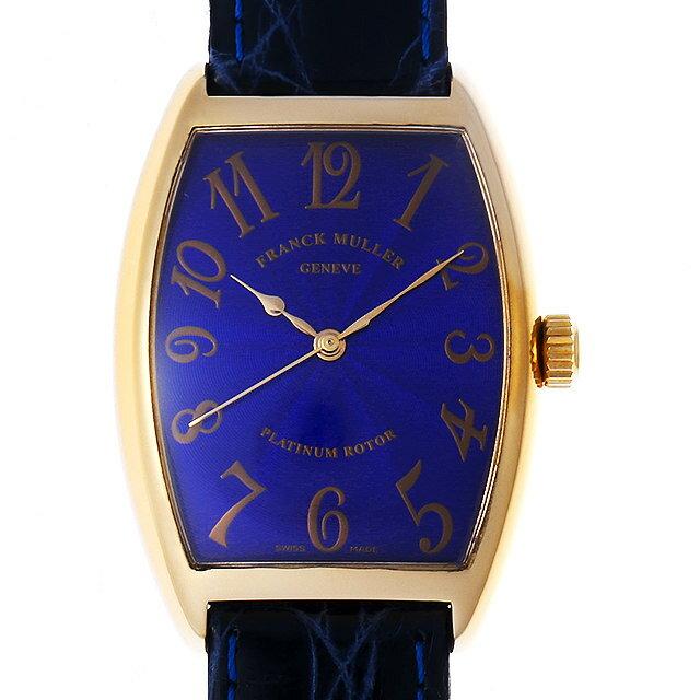 【48回払いまで無金利】フランクミュラー トノーカーベックス 2852SC H PG メンズ(02UDFRAU0001)【中古】【腕時計】【送料無料】