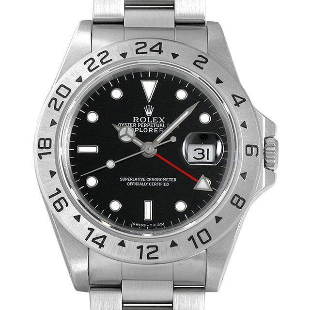 【48回払いまで無金利】ロレックス エクスプローラーII 16570 ブラック S番 メンズ(03MPROAU0003)【中古】【腕時計】【送料無料】