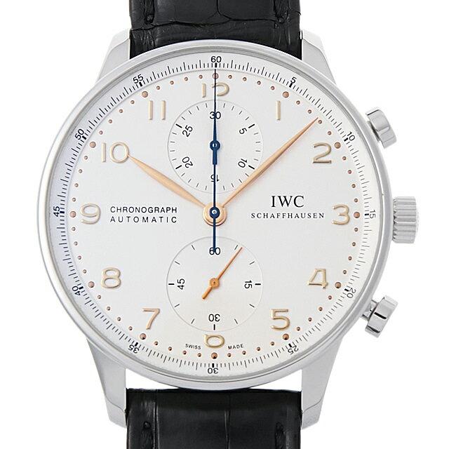 【48回払いまで無金利】IWC ポルトギーゼ クロノグラフ IW371445 メンズ(06ZIIWAU0001)【中古】【腕時計】【送料無料】