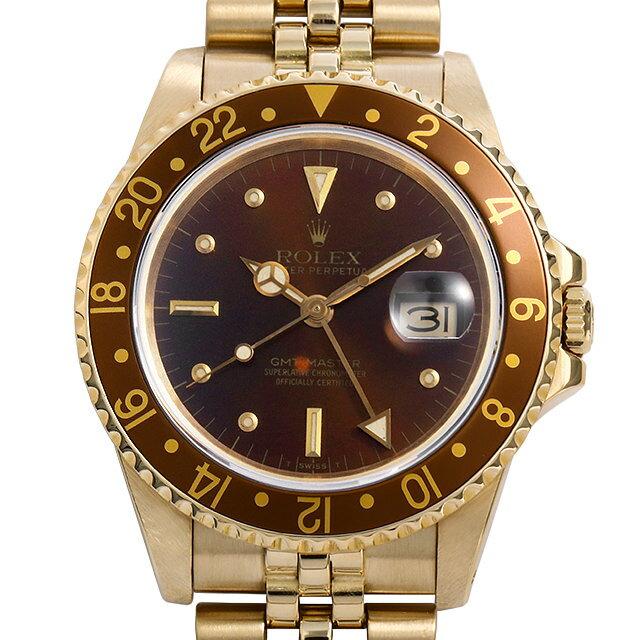 【48回払いまで無金利】SALE ロレックス GMTマスター 16758 フジツボ 83番 メンズ(007UROAU0512)【中古】【腕時計】【送料無料】
