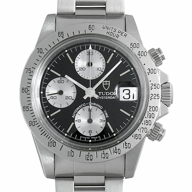 【48回払いまで無金利】チューダー クロノタイム 79180 メンズ(007UTUAU0036)【中古】【腕時計】【送料無料】